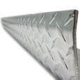 Checker Plate Wall Corner Guard Pattern