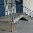 Checker Wall Corner Guard Installed