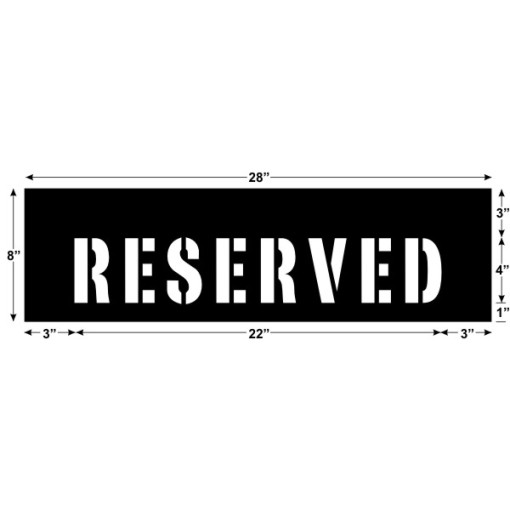 Reserved 22 x 4