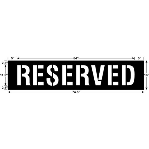 Reserved 64 x 11