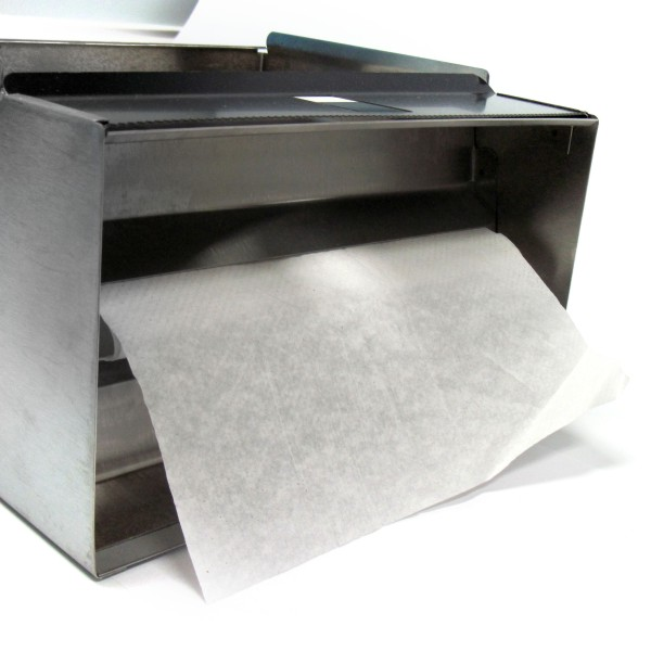 Stainless Steel Paper Towel Dispenser Exit Slot For Folded Paper