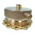 Brass-Male-Fire-Hose-Cap-Profile