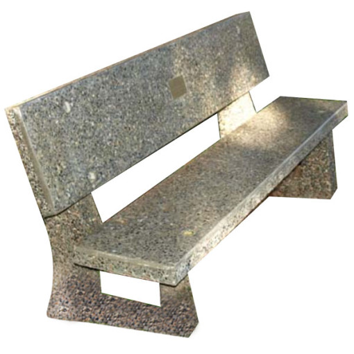 Concrete Bench Installed