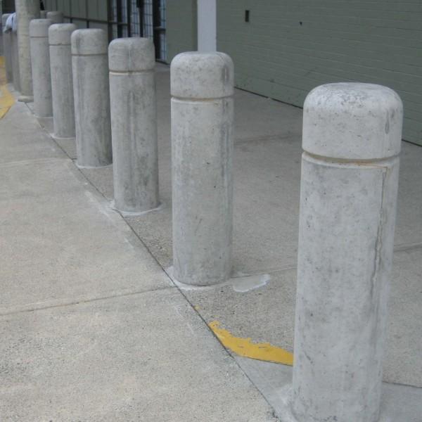 Concrete Bollard Bc Site Service