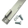 Zink Plated Side Mounting Bracket Can Use Either Strip or Bolt for Mounting