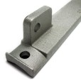 Zink Plated Side Mounting Bracket Tab For Mounting