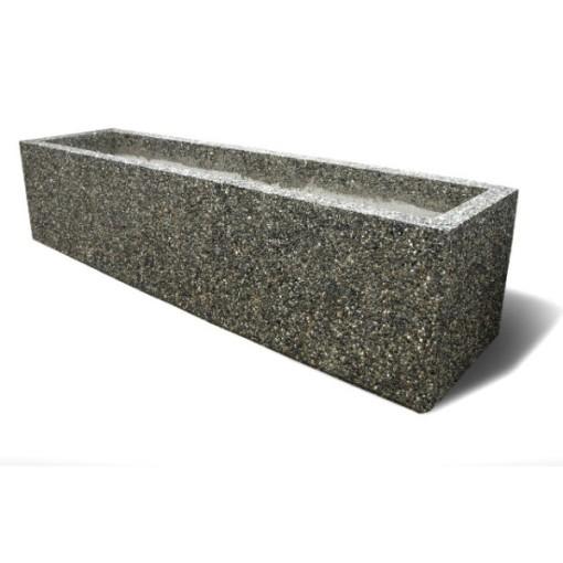 Rectangular Concrete Planters