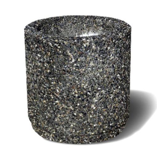 Round Concrete Planters