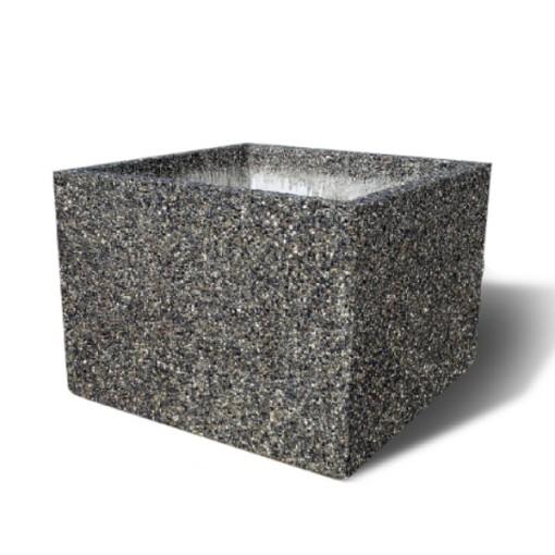 Square Concrete Planters