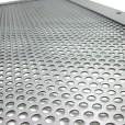 Steel Perforated Door Window Protection Corver Details