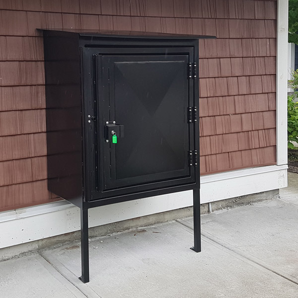 Custom High Security Mailbox Enclosures Bc Site Service