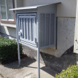 Mailbox-Enclosure-with-Rain-Guard