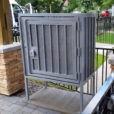 Mailbox-Security-Enclosure-with-Concrete-Levelling-Pad