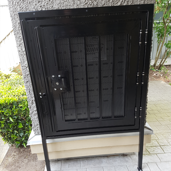 Custom High Security Mailbox Enclosures Bc Site Service