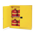 30 Gal Flammable Storage Cabinet Yellow