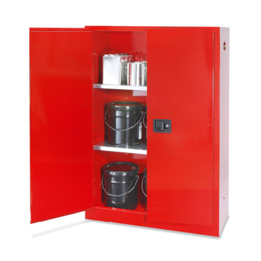 45 Gal Flammable Storage Cabinet Red