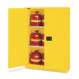 45 Gal Flammable Storage Cabinet Yellow