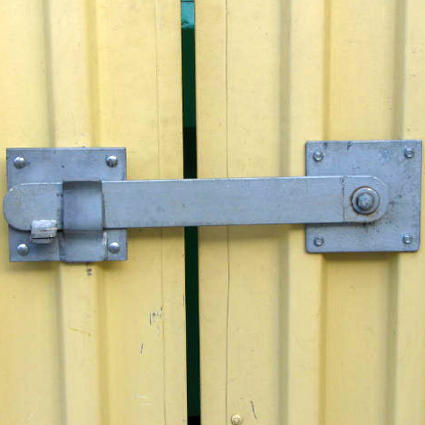 Heavy Duty Lockable Latch For Large Doors And Gates Bc