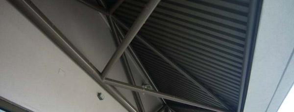 Bird-perch-underneath-covered-walkway