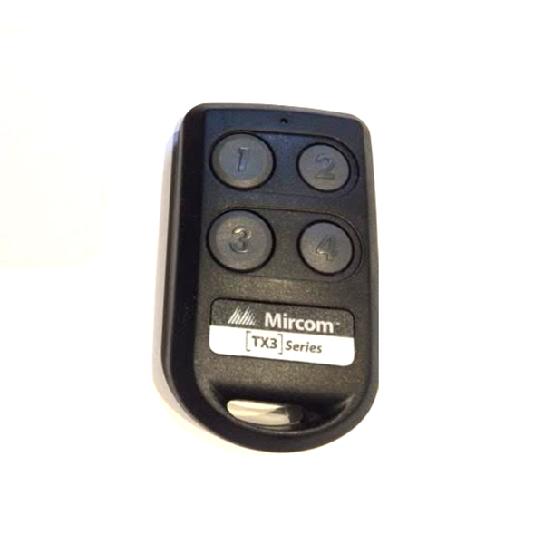 Mircom Tx3 Security Access Wireless Radio Transmitter 4 Button Bc