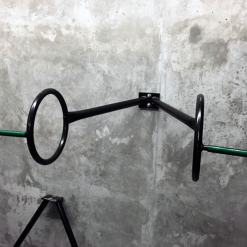 V-Ring - Double Ring – Wall Mounted Bike Rack 01